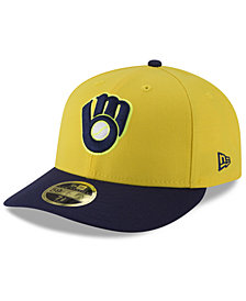 New Era Milwaukee Brewers Players Weekend Low Profile 59FIFTY FITTED Cap