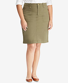 Lauren Ralph Lauren Chino Skirt