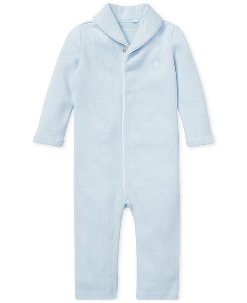 Polo Ralph Lauren Baby Boys Cotton Coverall