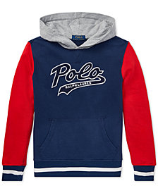 Polo Ralph Lauren Little Boys Colorblocked Cotton French Terry Hoodie