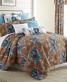 Tropical Bloom Duvet Cover Set-King/California King