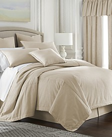 Cambric Vanilla Duvet Cover-Queen