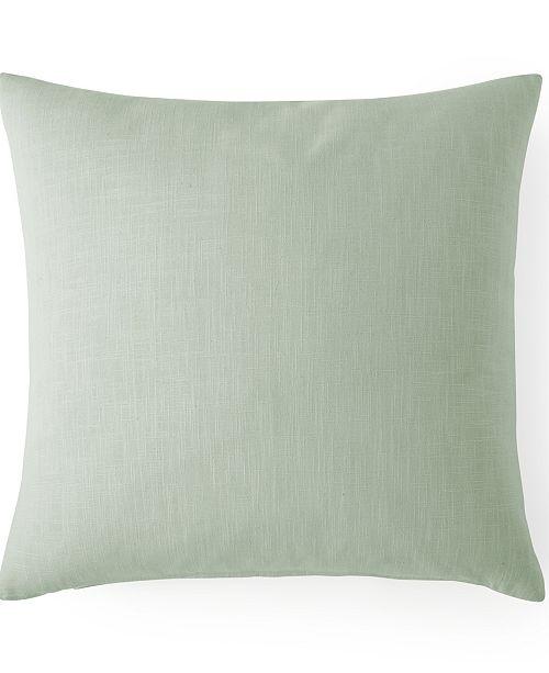 """Colcha Linens Cambric Seafoam 20"""" x 20"""" Square Cushion"""