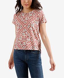 Lucky Brand Allover-Print T-Shirt