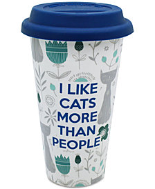 CLOSEOUT! TMD Holdings I Like Cats More Travel Mug