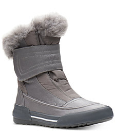 Clarks Collection Women's Gilby Merilyn Cold-Weather Waterproof Boots