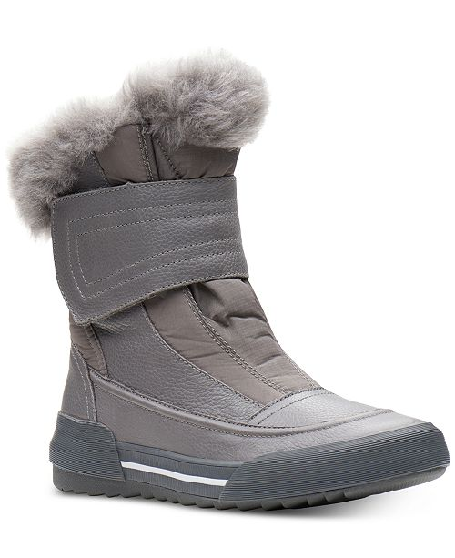 1dc733e3f Clarks Collection Women's Gilby Merilyn Cold-Weather Waterproof ...