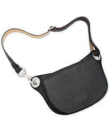 Pebble Leather Oversized Fanny Pack