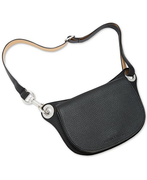 Michael Kors Pebble Leather Oversized Fanny Pack