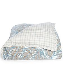Lauren Ralph Lauren Hadley Reversible 120-Thread Count 3-Pc. Fern Full/Queen Comforter Set