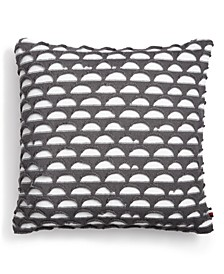 "Blackrock Knit 20"" Square Decorative Pillow"