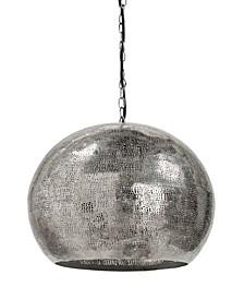 Regina Andrew Design Pierced Metal Sphere Pendant