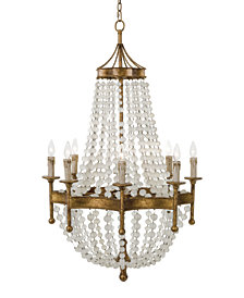 Regina Andrew Design Frosted Crystal Bead Chandelier