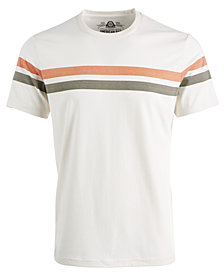 American Rag Men's Sporty Striped T-Shirt, Created for Macys