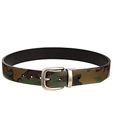 Levi's® Big Boys Camo-Print Reversible Belt
