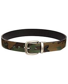 Levi's® Big Boys Camo-Print Reversible Belt