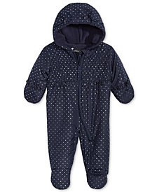 S. Rothschild Baby Girls Hooded Printed Footed Pram