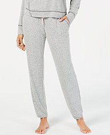 Alfani Brushed Hacci Knit Pajama Pants, Created for Macy's
