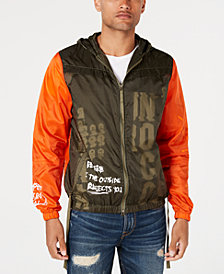 Punk Royal Men's Hooded Wind Runner Jacket