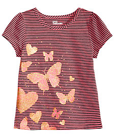 Epic Threads Toddler Girls Striped T-Shirt, Created for Macy's
