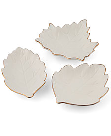 Thirstystone Harvest Appetizer Plates, Set of 3