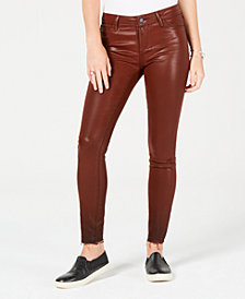 Articles of Society Sarah Coated Ankle Skinny Jeans