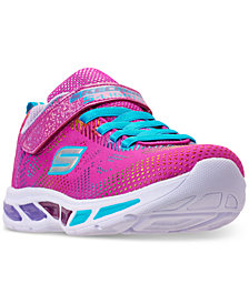Skechers Little Girls' S Lights: Litebeams - Gleam N' Dream Light Up Running Sneakers from Finish Line