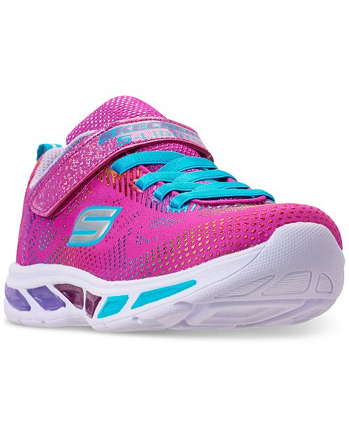 Skechers Little Girls' S Lights: Litebeams Gleam N' Dream