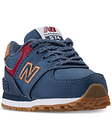 New Balance Toddler Boys' 574 Backpack Casual Sneakers from Finish Line