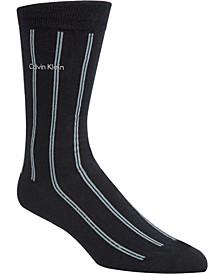Men's Striped Crew Socks