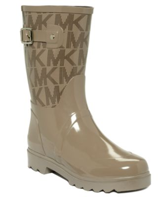 MICHAEL Michael Kors Logo Mid Rainboots