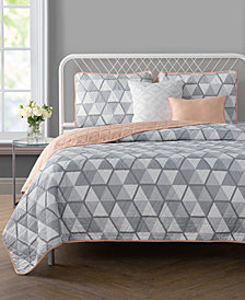 VCNY Home Brynley Reversible 4-Pc. Twin/Twin XL Quilt Set