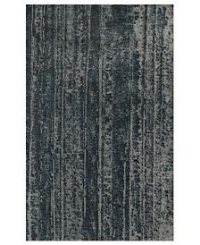 "Macy's Fine Rug Gallery Mosaic Rails Pewter 3'3"" x 5'1"" Area Rug"