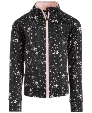 Ideology Little Girls SpacePrint ZipUp Jacket Created for Macys