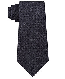 Calvin Klein Men's Seasonal Mini Square Slim Silk Tie
