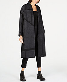 Eileen Fisher Alpaca Printed Duster Jacket