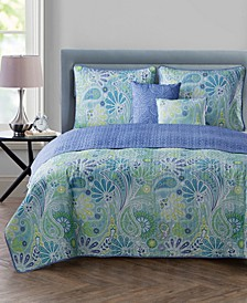 Harmony Reversible 5-Pc. King Quilt Set