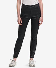 DKNY Coated Jeggings, Created for Macy's