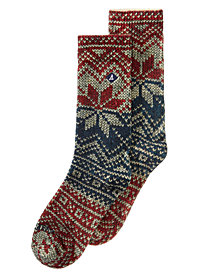 Sperry Men's Printed Crew Socks