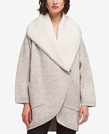 DKNY Marled Shawl-Collar Cardigan, Created for Macy's