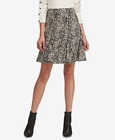 DKNY Printed A-Line Skirt, Created for Macy's
