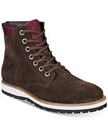 Bar III Men's Dalton Lace-Up Boots, Created for Macy's
