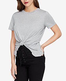 RACHEL Rachel Roy Mindy Knotted T-Shirt, Created for Macy's