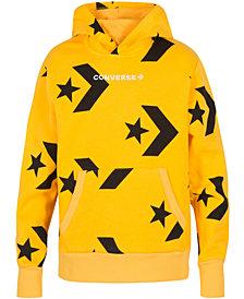 Converse Big Boys Chevron Star Printed Hoodie