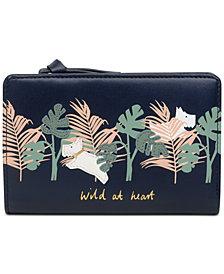 Radley London Zip-Top Bifold Leather Wallet