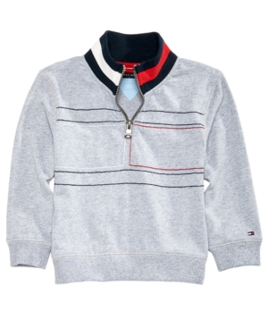 Tommy Hilfiger Baby Boys Embroidered Cotton Sweater