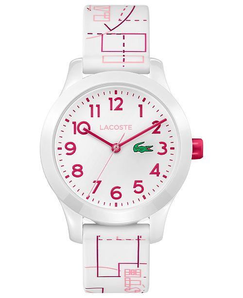 72dc79af06 Kid's 12.12 White Silicone Strap Watch 32mm