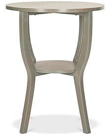 Rhodes Round Pedestal Accent Table