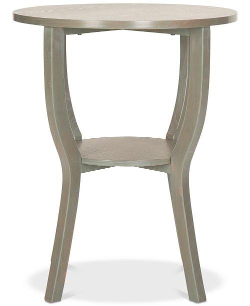 Safavieh Rhodes Round Pedestal Accent Table