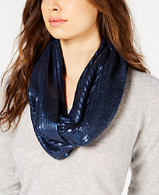 I.N.C. Liquid Shine Infinity Scarf, Created for Macy's